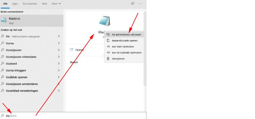 hosts file pc aanpassen